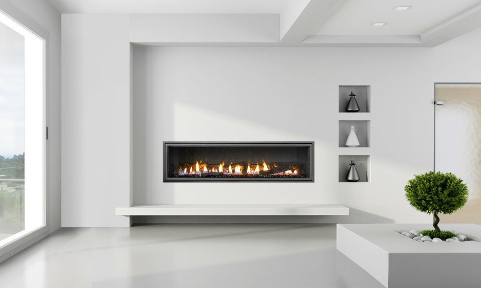 Houston Contemporary Gas Fireplaces