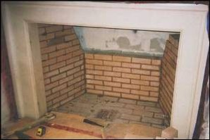 Houston Fireplace Brick Repair